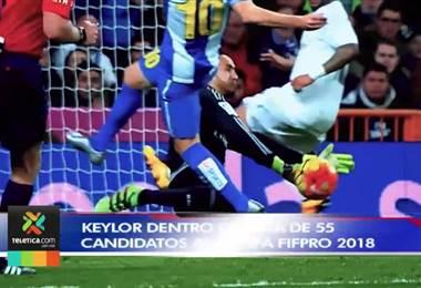 Keylor Navas es candidato a ser seleccionado en el once ideal del sindicato mundial de futbolistas
