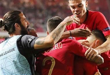 Selección de Portugal. | Nani en Facebook.