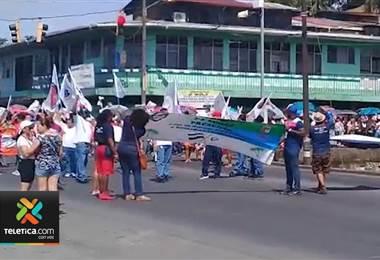 Diferentes rutas y zonas fronterizas se vieron afectadas por los bloqueos de este lunes