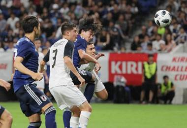 Japón derrotó 3-0 a La Sele.|AFP