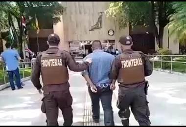Policía de Fronteras aprehende a sospechoso de tráfico de personas en La Cruz de Guanacaste