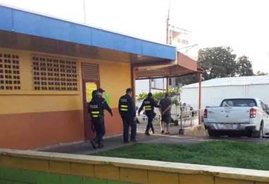 Fuerza Público detuvo a conductor que irrumpió en marcha de huelguistas en Cañas