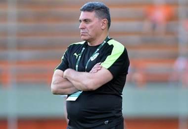 El técnico colombiano Luis Fernando Suárez.