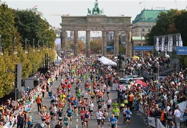 Maratón de Berlín, Alemania.