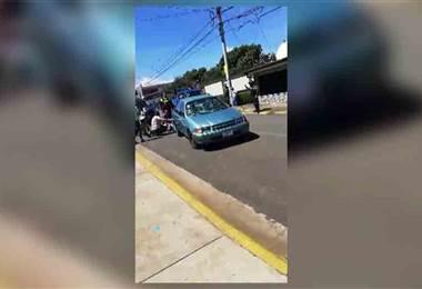 Atropello múltiple deja 6 estudiantes heridos y trasladados al hospital de Heredia