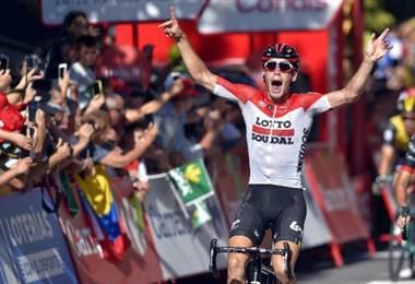 Jelle Wallays, ciclista belga.|AFP