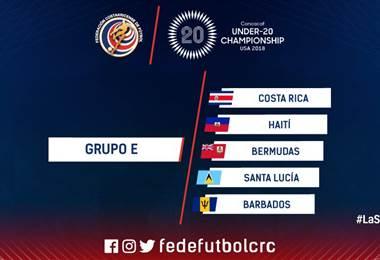 Rivales premundial Sub 20.|Prensa Fedefútbol