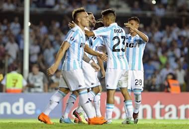 Racing es líder en Argentina. AFP