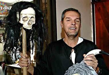 El mascarero Danny Lara nos muestra la cara más alegre de Heredia