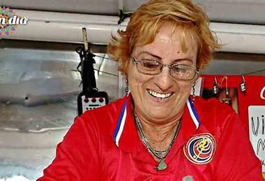 Conozca a Rosa 'La Macha' Herrera, la vigoronera más dicharachera de Puntarenas