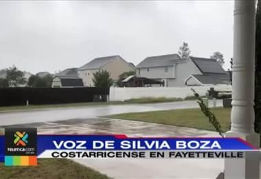 Cancillería no reporta costarricenses afectados por huracán Florence