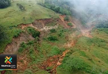 CNE monitorea los principales lugares de deslizamientos en el país