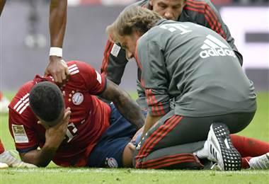 Corentin Tolisso sufrió una lesión con el Bayern.|Bayern Munchen
