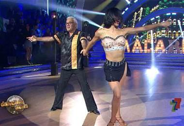 Wesley y Jahzell abrieron la segunda gala de Dancing With The Stars con una samba