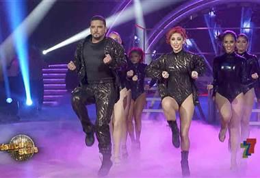 Jecsinior Jara brilló en la pista de Dancing With The Stars con un baile libre