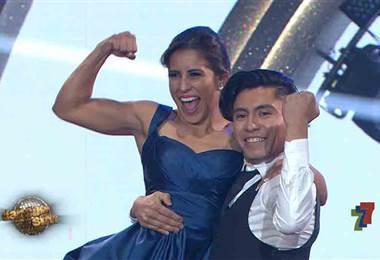Yokasta Valle bailó quickstep en la segunda gala de Dancing With The Stars