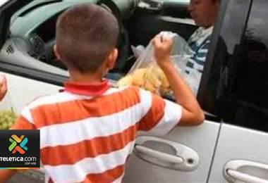 Explotación infantil es un fenómeno que va en aumento en la sociedad costarricense