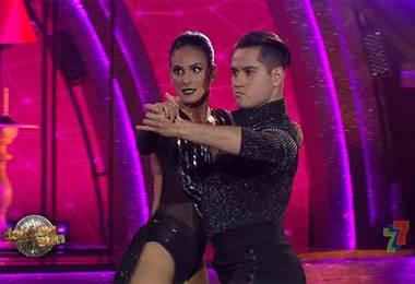Johanna Solano cerró la segunda gala de la quinta temporada de Dancing With The Stars con un tango