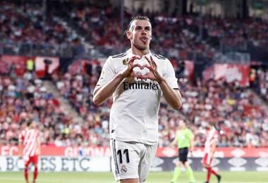 Gareth Bale, delantero galés del Real Madrid.