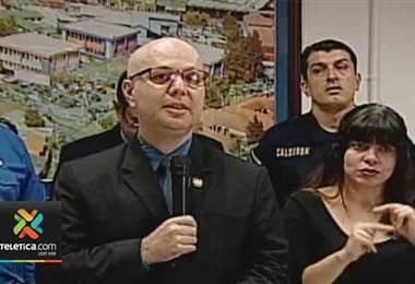 Ministro de Seguridad habla sobre el daño en poliducto en Recope