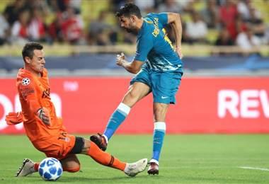 El atacante Diego Costa. AFP
