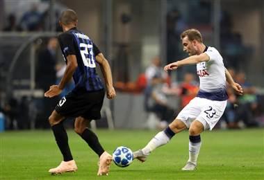 Inter enfrentó al Tottenham en la fase de grupos de la Champions 2018-2019. UEFA