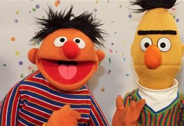 Bert y Ernie, personajes de Plaza Sésamo.