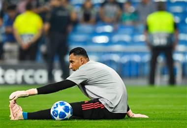 Keylor Navas, portero costarricense del Real Madrid.