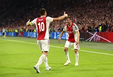 El Ajax abre su participación en la Champions con victoria. Facebook de la UEFA