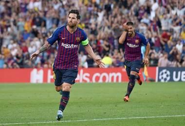 Lionel Messi, capitán del FC Barcelona| Facebook UEFA Champions League.
