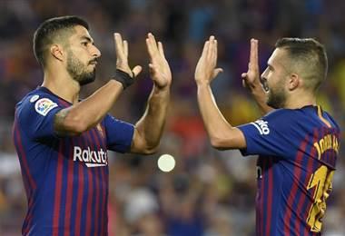 Barcelona golea al Huesca. AFP