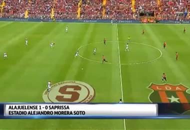 Fútbol Nacional: Alajuelense 1 - 0 Saprissa