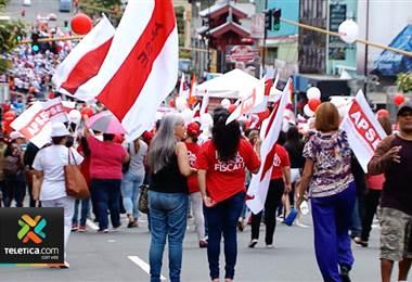 Con pocos reportes de incidentes continúan los movimientos de huelga en todo el país