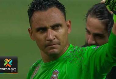 Keylor Navas vuelve abrir el debate en la portería del Real Madrid