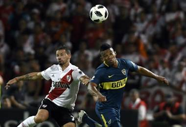 Boca Juniors y River Plate una añeja rivalidad.|AFP