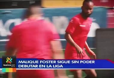 Documento que debe validar el consulado en Jamaica tiene a la Liga sin el debut de Malique Foster