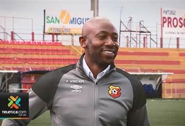 Paulo César Wanchope busca en el Herediano ganar su primer torneo Concacaf