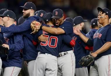 Boston Red Sox ganó su división.|AFP