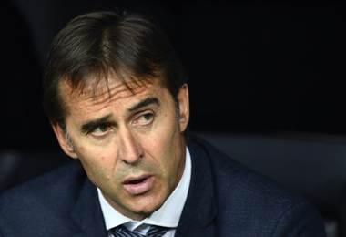 Julen Lopetegui, técnico del Real Madrid.|AFP