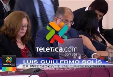 """Luis Guillermo Solís desmiente que haya un hueco fiscal y lo califica como """"faltante presupuestario"""""""