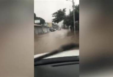 Inundaciones en Santa Cruz