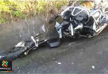 Aparatoso accidente en la ruta 27