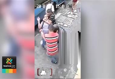 Asalto peaton