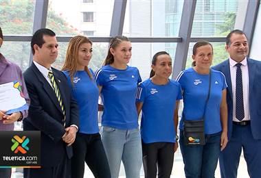 Delegación que participó en los juegos en Barranquilla 2018 recibieron certificados del torneo