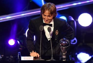 Luka Modric ganó el premio The Best 2018 |AFP.