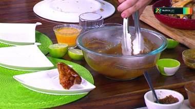 Receta: Alitas con tres salsas