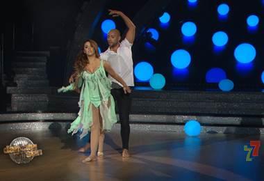 Keyla Sánchez le dedicó su coreografía en #DancingCR a su pequeño hijo Thiago
