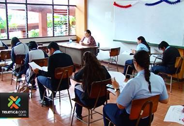 Colegios técnicos inician exámenes de bachillerato el jueves