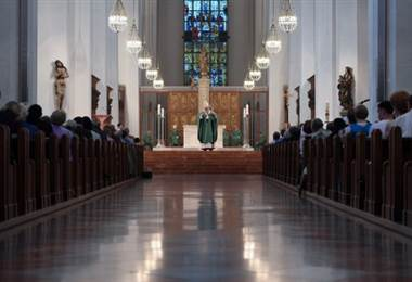 Iglesia católica.  AFP