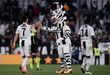 Cristiano Ronaldo de la Juventus. AFP